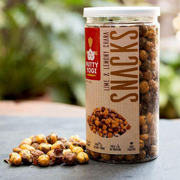 Nutty Yogi Lime & Lemony Chana, 100g