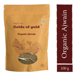 Pristine Fields of Gold - Organic Ajwain, 100g