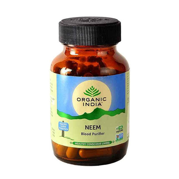 Organic India Neem - 60 Capsules Bottle