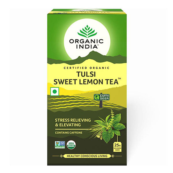 Organic India Tulsi Sweet Lemon Tea - 25 Tea Bags