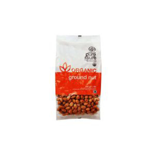 Pure & Sure Organic Ground Nut, 500GM