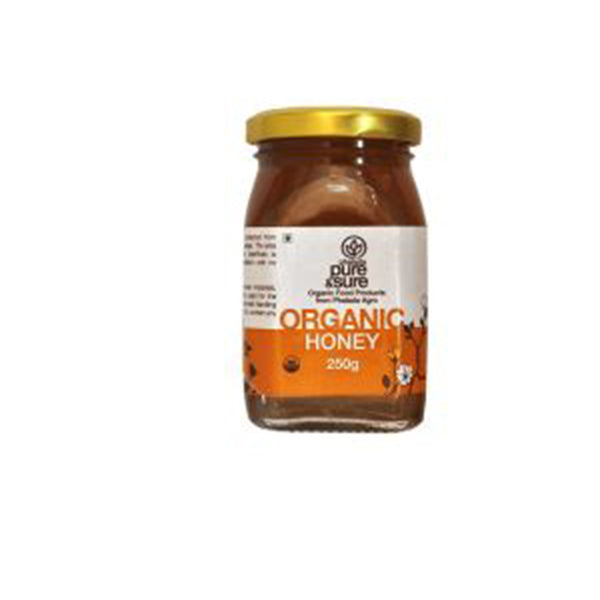 Pure & Sure Organic Honey, 250GM