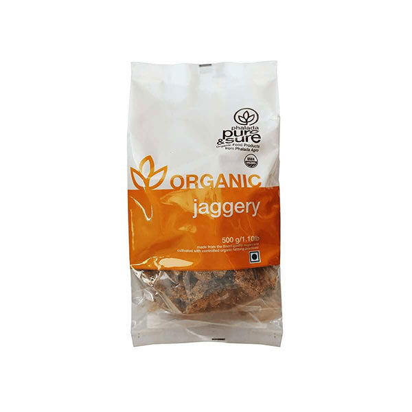 Pure & Sure Organic Jaggery, 500GM