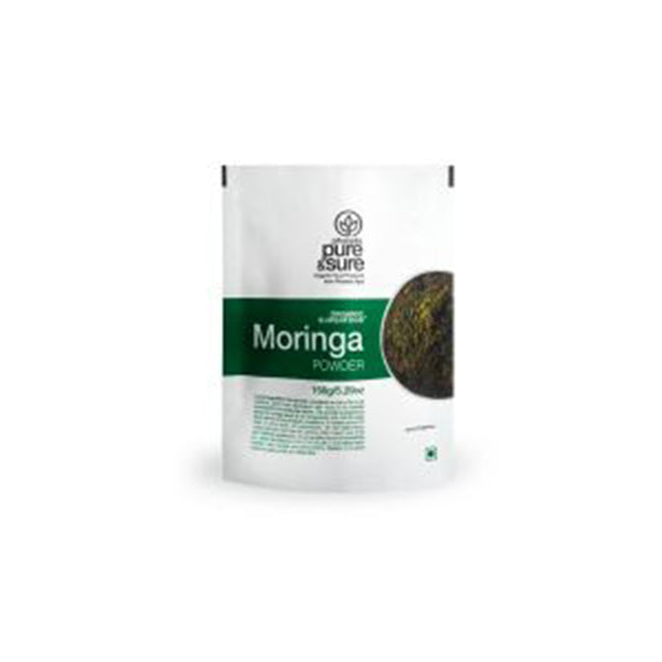 Pure & Sure Organic Moringa Powder, 150 gm