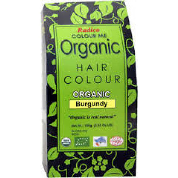 Radico Organic Hair Colour - Burgundy, 100gms