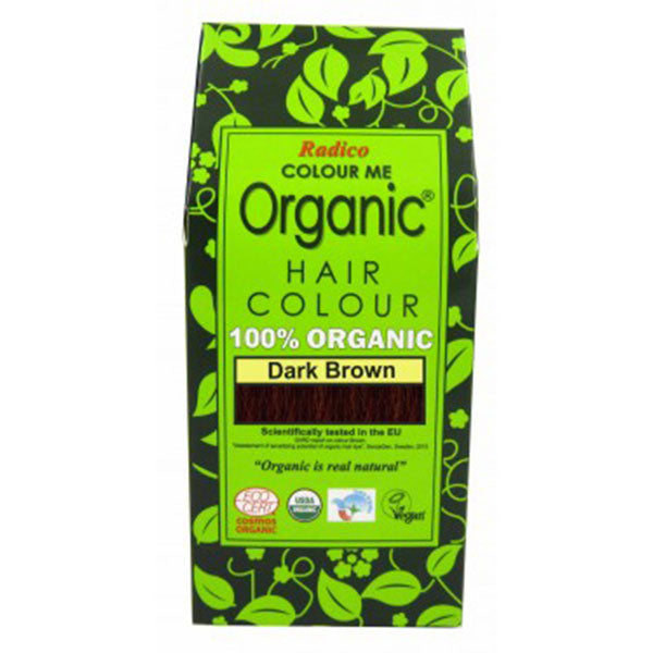 Radico Organic Hair Colour - Dark Brown, 100gms
