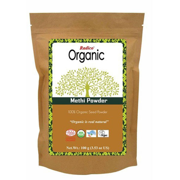 Radico Organic Methi - Powder, 100gms