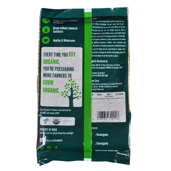 Turn Organic Chana Dal, 500gm