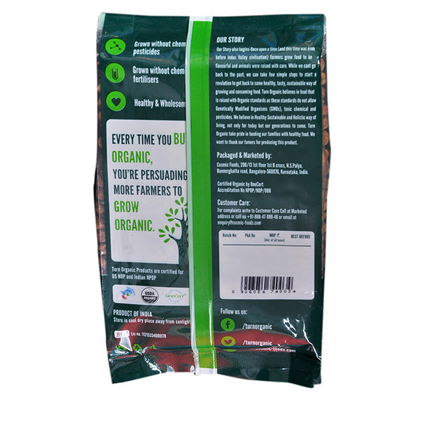Turn Organic Chana Whole, 500gm