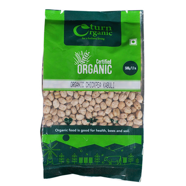 Turn Organic Chickpea Kabuli, 500gm