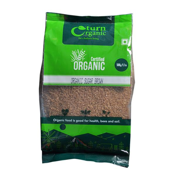 Turn Organic Sugar Brown, 500gm