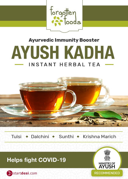 Forgotten Foods Ayush Kadha, 100gm