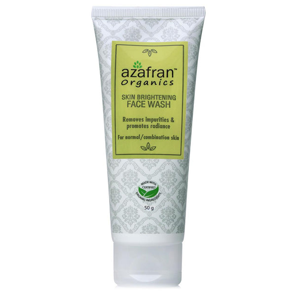 Azafran Skin Brightening Face Wash, 50ml