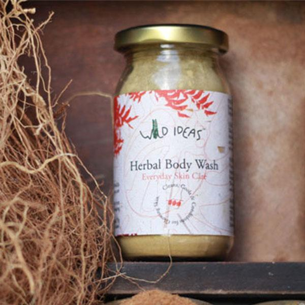 Wild Ideas Herbal Body Wash, 100gm
