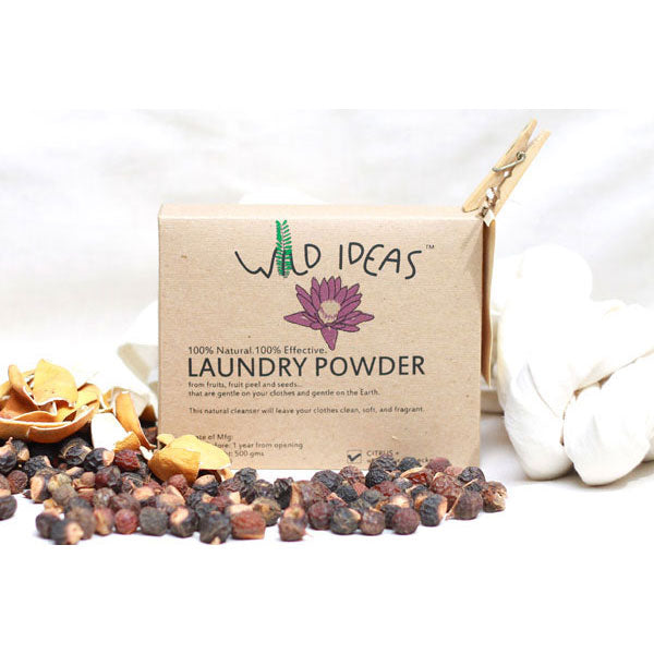 Wild Ideas Laundry Powder With Citrus, 500gm