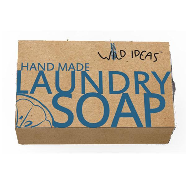 Wild Ideas Natural Hand-Made Laundry Bar Soap, 100gm