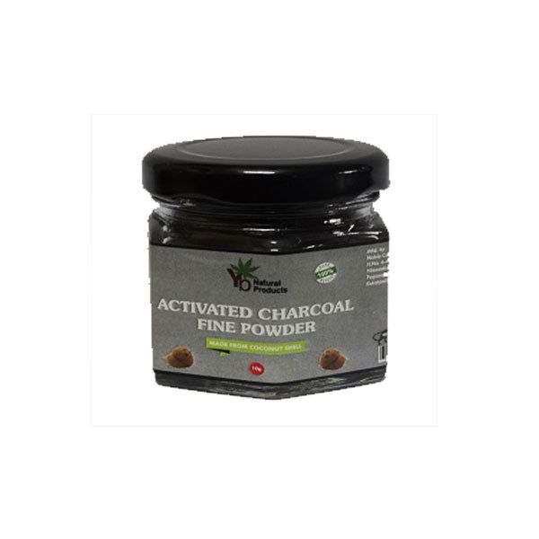 YB Naturals Activated Charcoal Fine Powder, 10gm