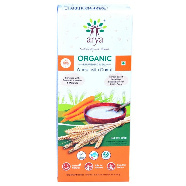 Arya Nourishing Meal-Wheat With Carrot, 300g