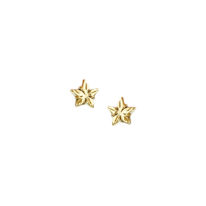 Santan Stud Earrings in Gold