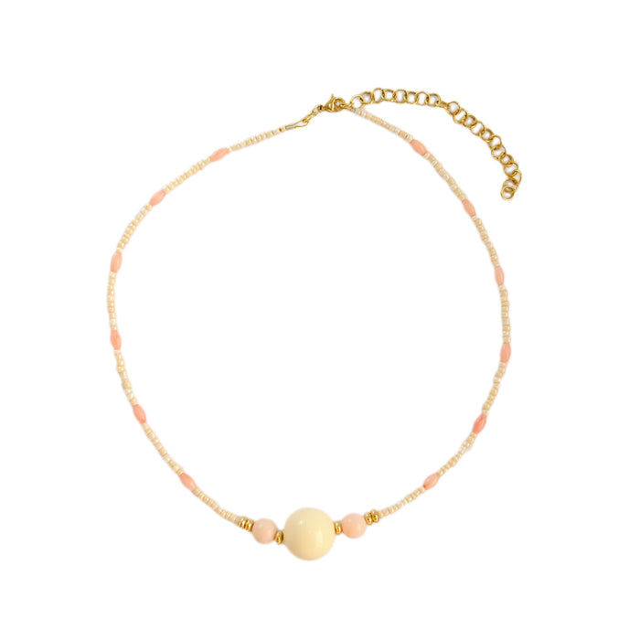 Gomma Necklace in Ivory