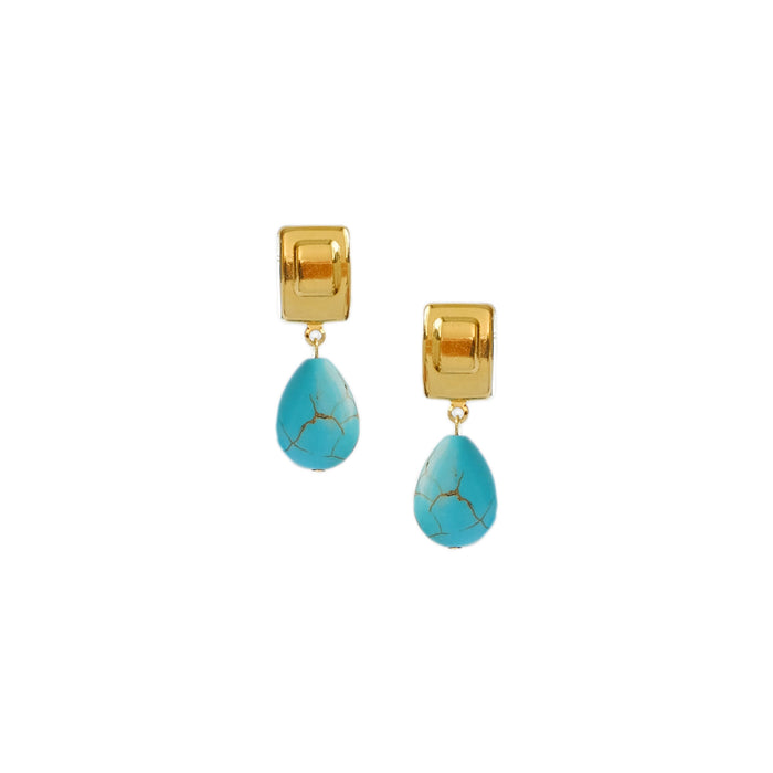 Lacrima Earrings in Turquoise