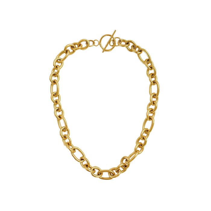 Ley Necklace in Gold