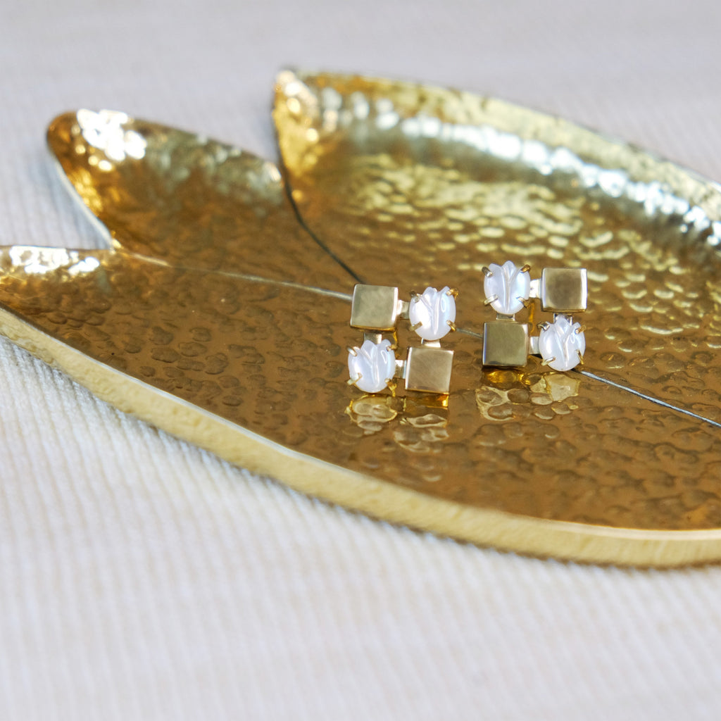 Sampaguita Catchall in Gold