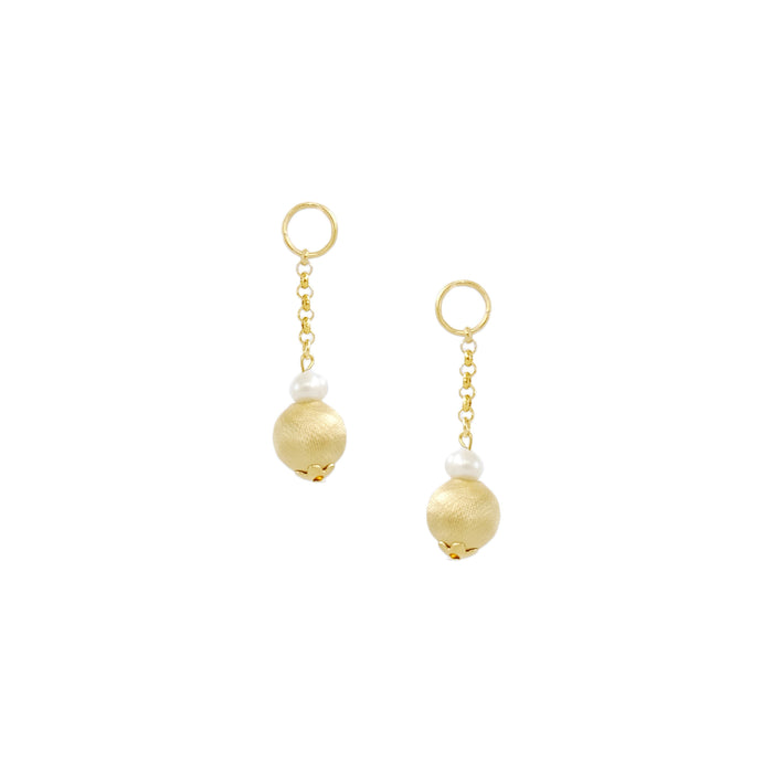 Boule Charms in Gold