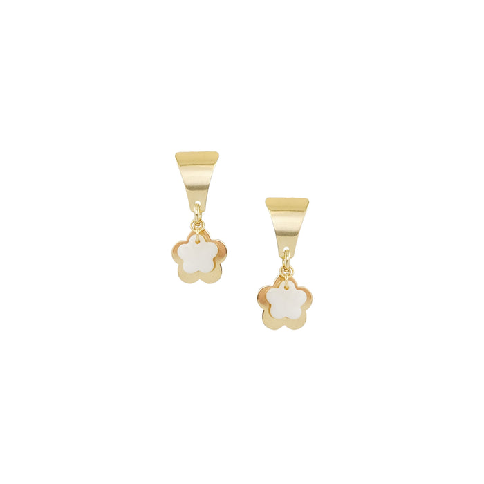 Goldie Earrings in Ivory