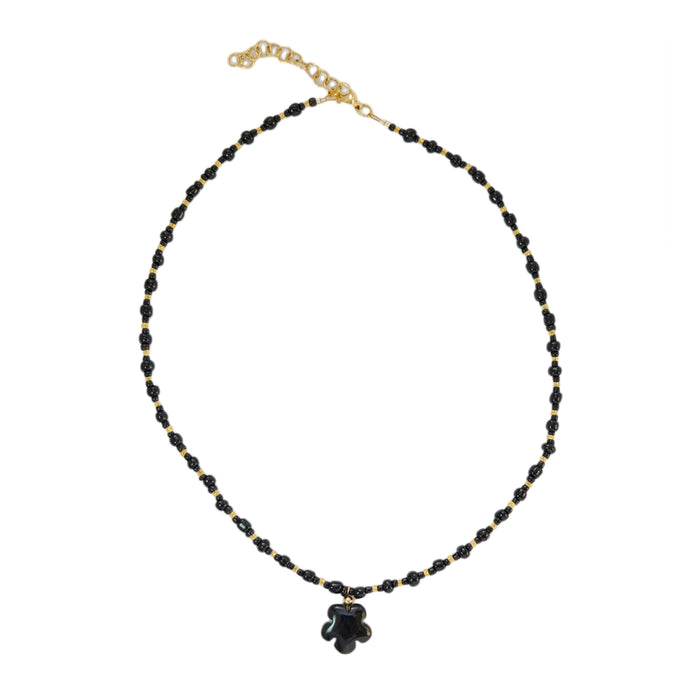 Gulla Necklace in Ebony