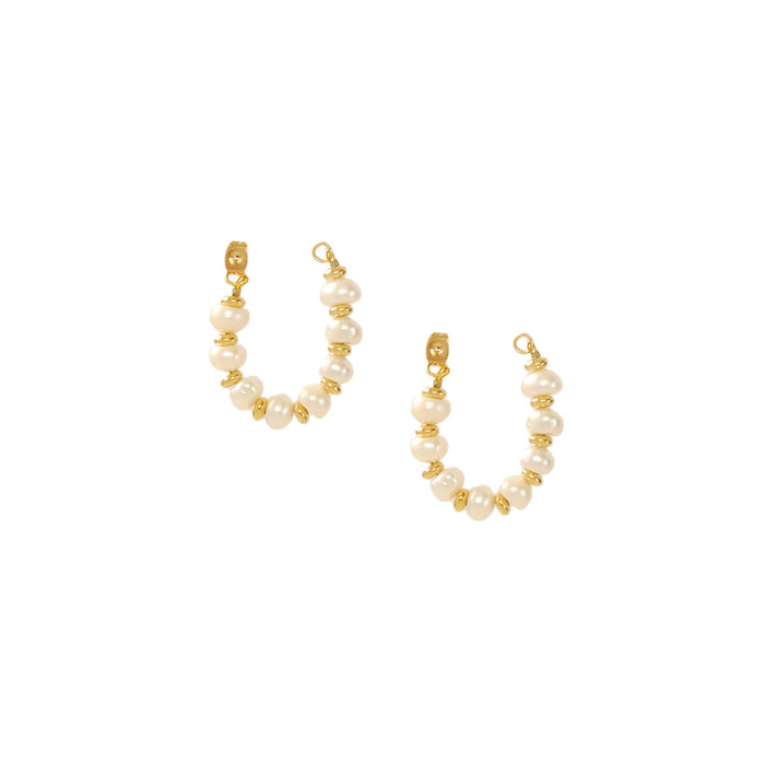 Kella Earrings in Pearl