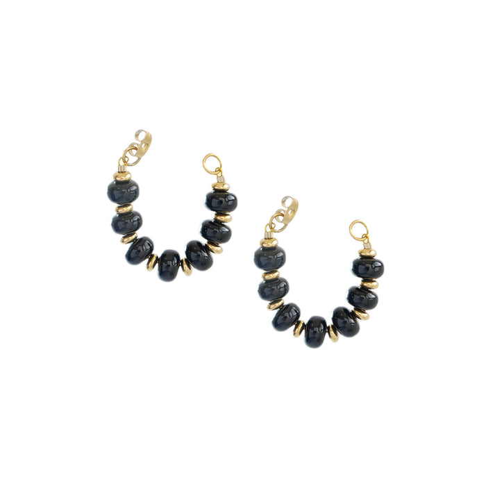 Kella Earrings in Ebony
