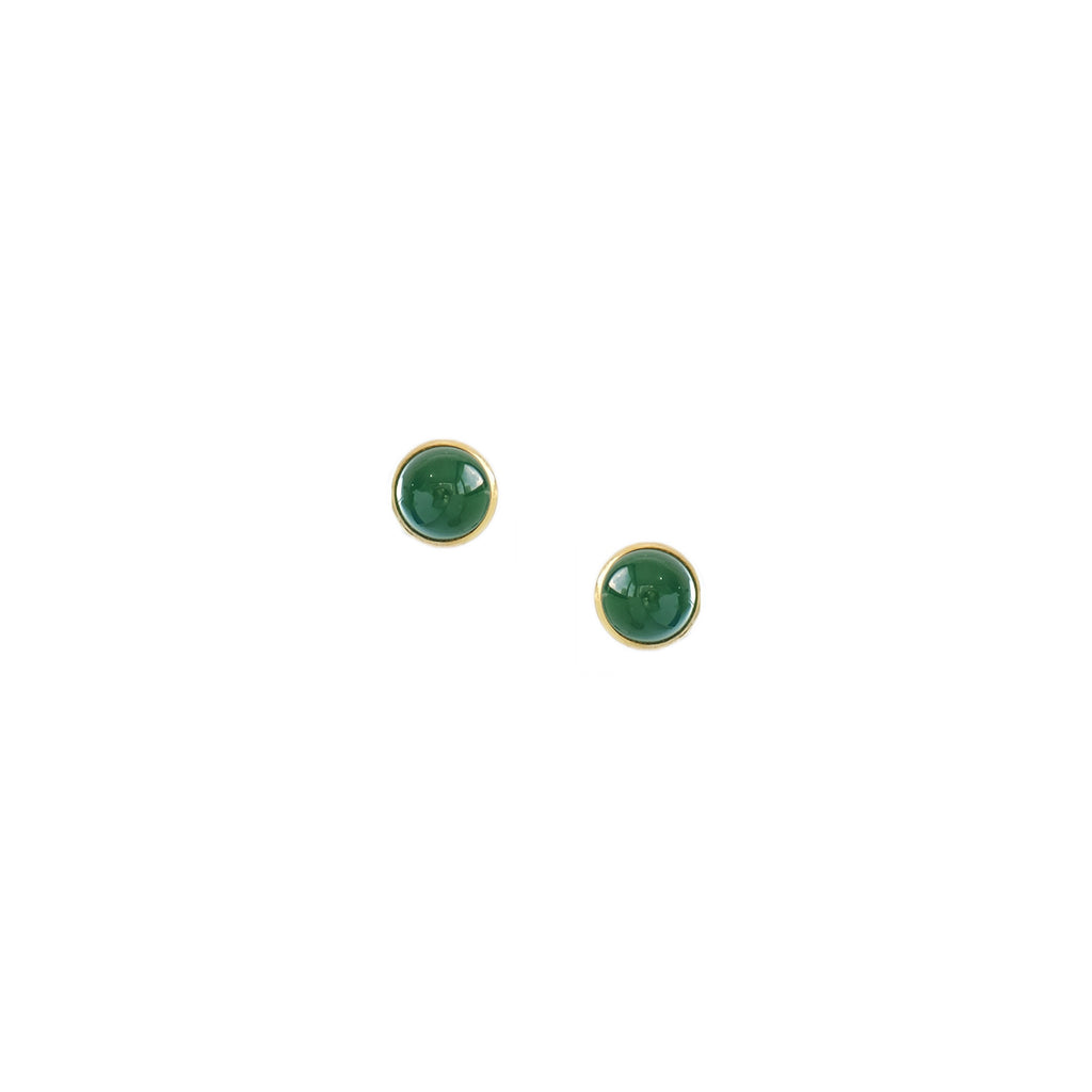 Lauren Detachable Earrings in Green