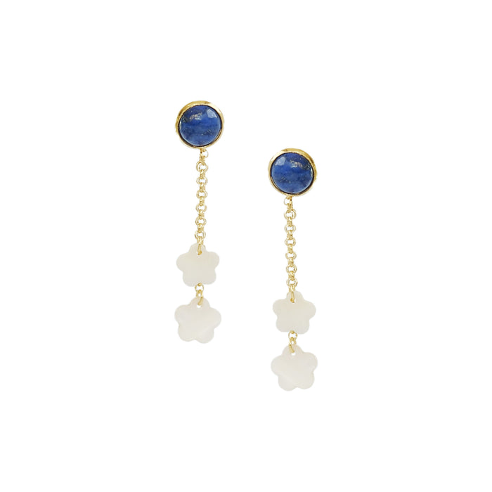 Margaret Earrings in Ivory