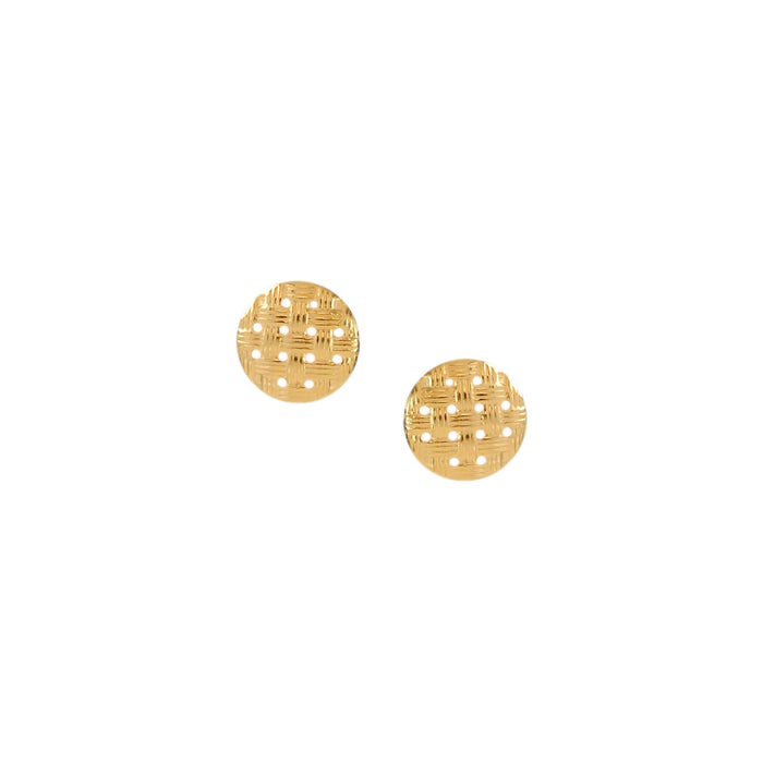 Sebu Earrings in Gold