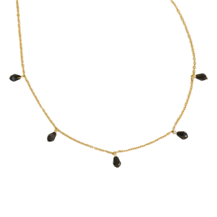 Tara Necklace in Ebony