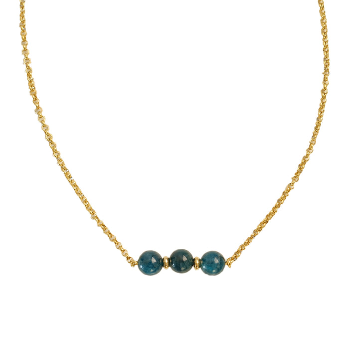 Luz Necklace in Teal