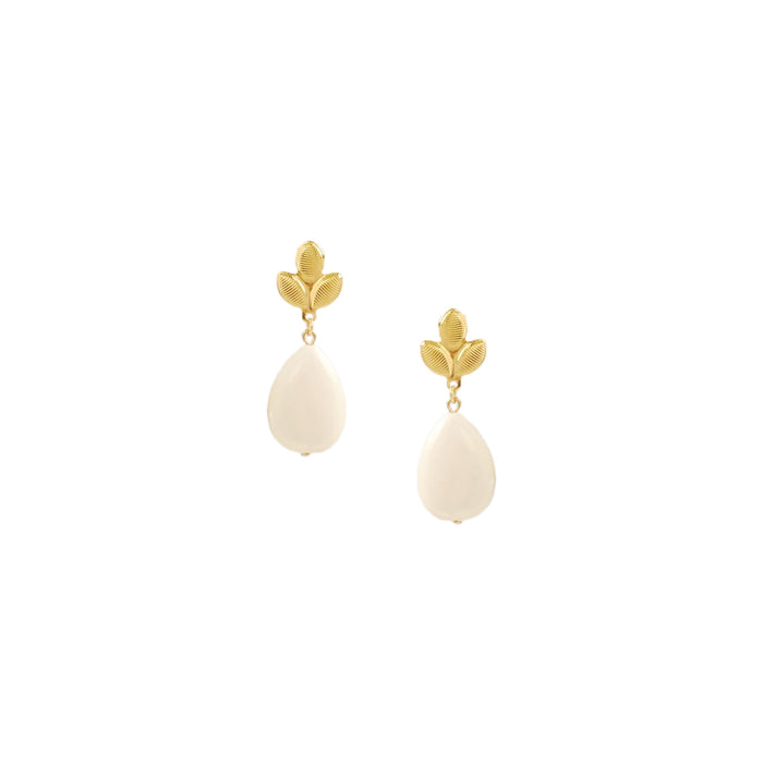 Ina Earrings in Ivory