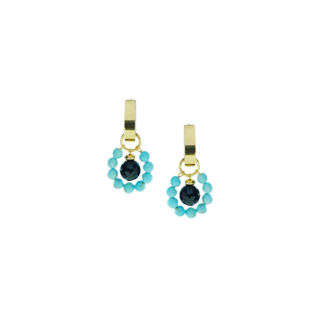 Turquoise Bubble Charms