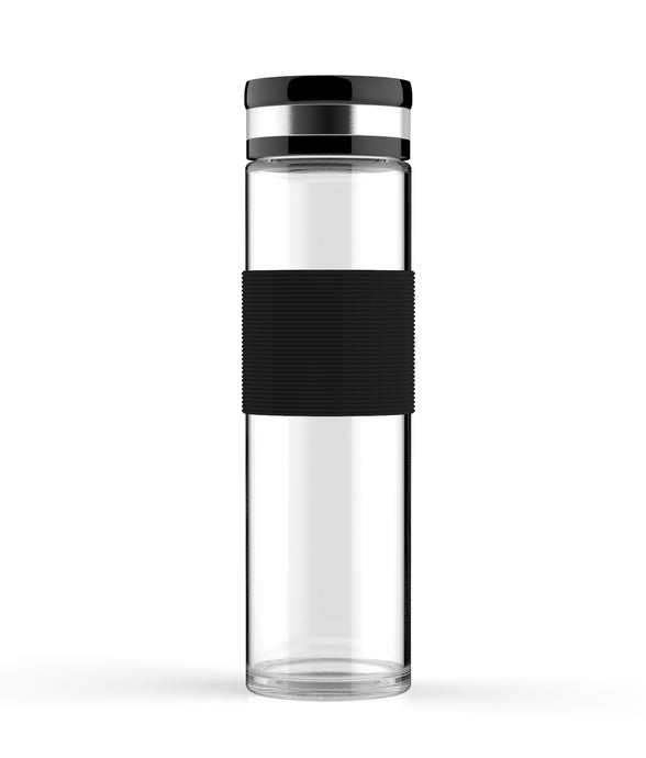 600ml - ELDR Supply - Borosilicate Glass Water Bottles