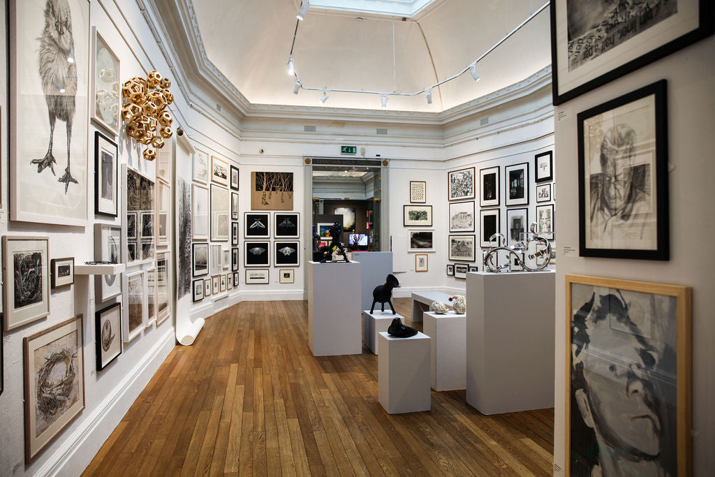 Image: 168 Annual Open Exhibition, installation view, RWA, 2021. Photo: Alice Hendy Photography