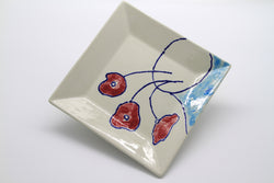 Three Poppies (Ceramic)