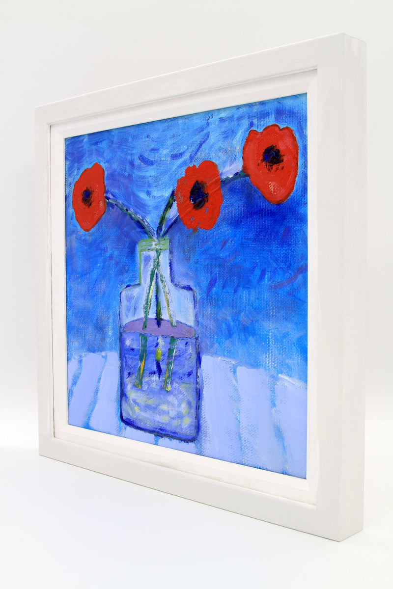 Three Poppies (oil)