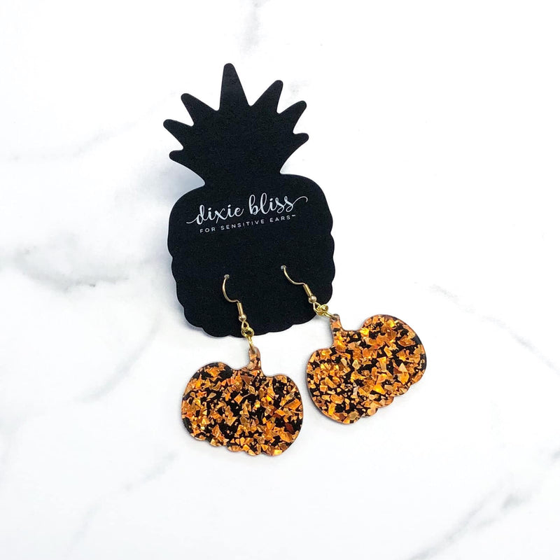 Dixie Bliss - Exclusive Pumpkin Dangles