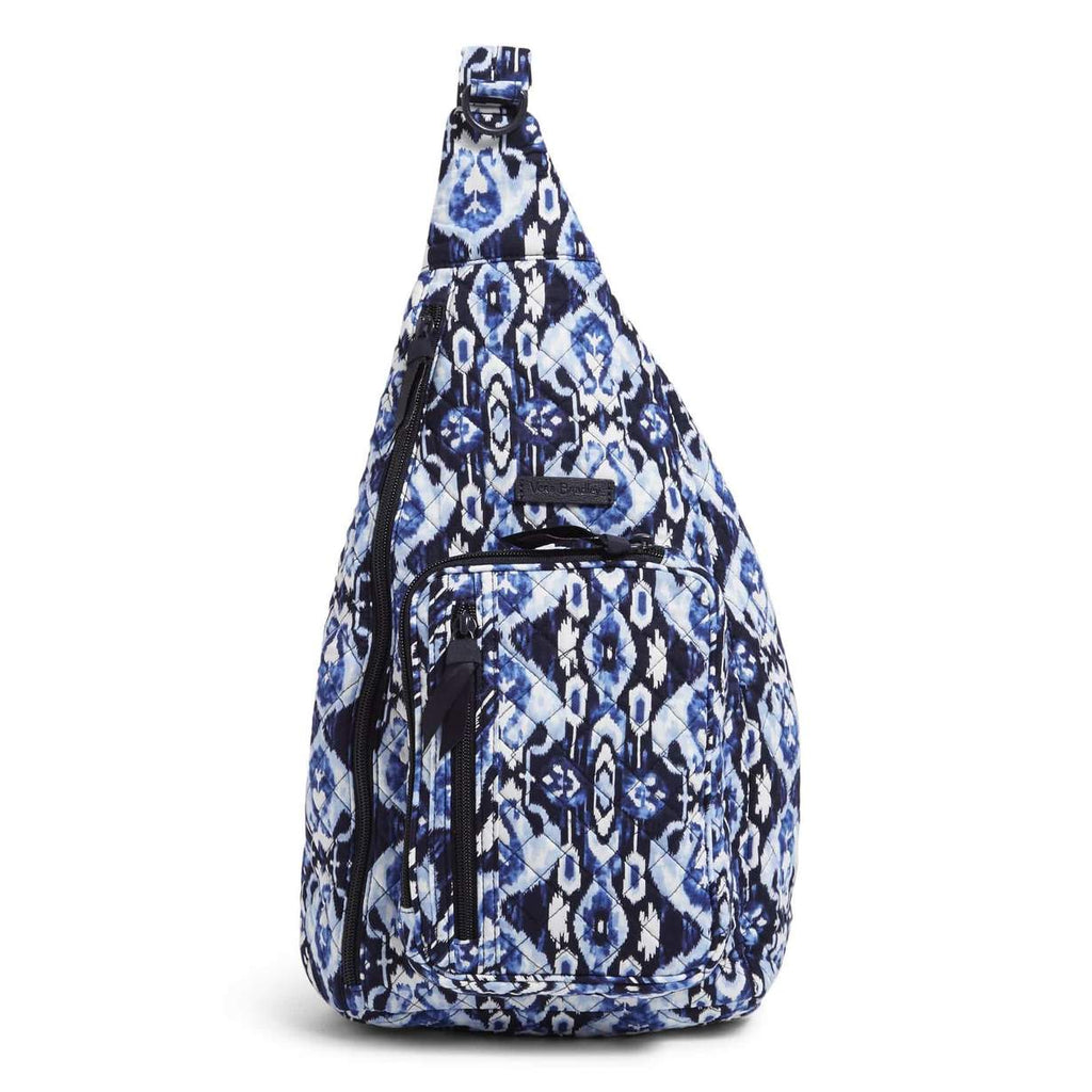 Vera Bradley - Sling Backpack in Ikat Island