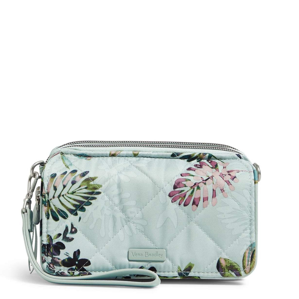 Vera Bradley - RFID All in One Crossbody in Seawater Blooms