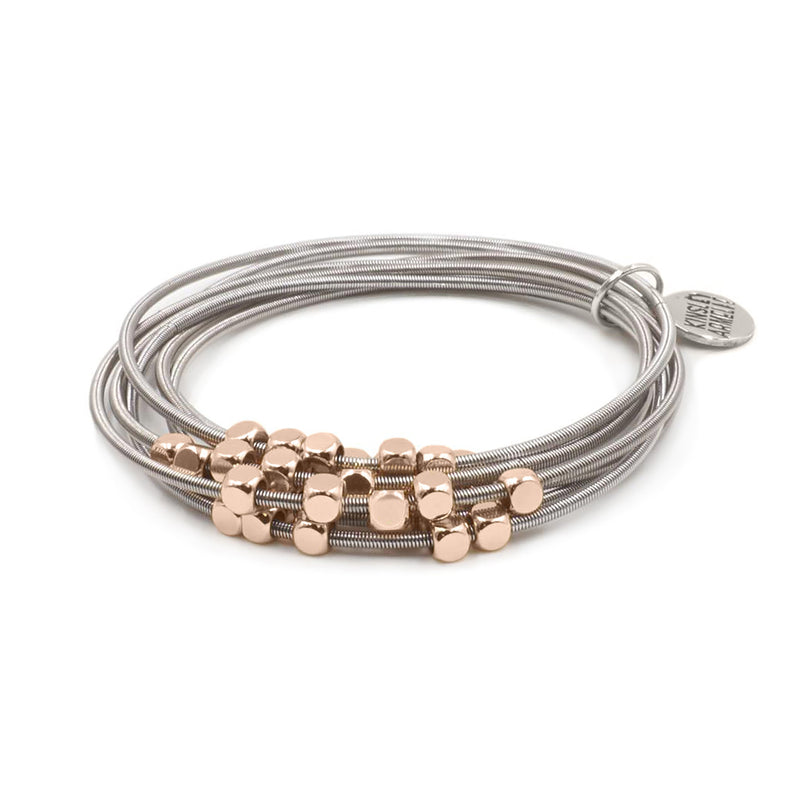 Kinsley Armelle - Metallic Collection - Rose Gold Ory Bracelet