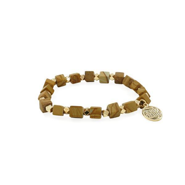 Kinsley Armelle - Rubik Collection - Jasper Bracelet