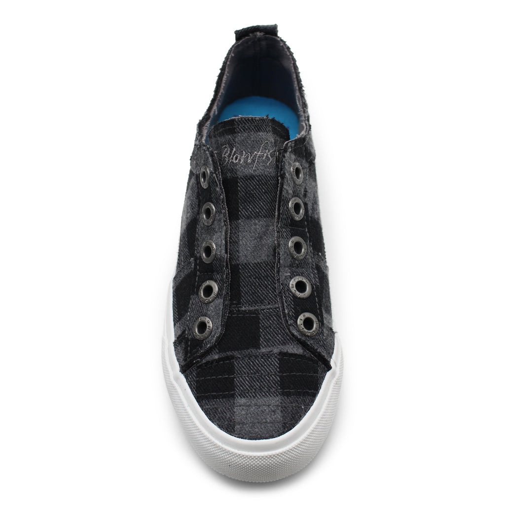 Blowfish - Play Sneaker - Grey Mini Buffalo Check