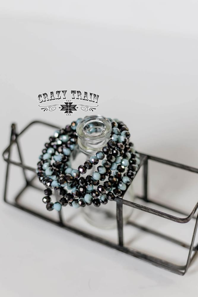 Crazy Train - Black Ice Bracelet - Crazy Train